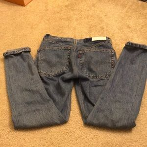 Redone re/done skinny straight jeans size 25
